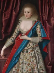Portret van een vrouw, mogelijk Lady Thornhagh-Jackson (ca. 1600-1661)