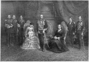 De Koninklijke Familie, 1874