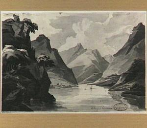 Het meer van Chiavenna