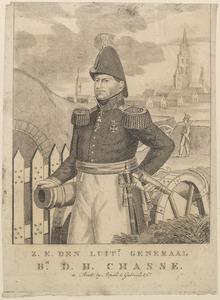 Portret van David Hendrik baron Chassé (1765-1849)