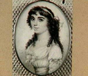 Portret van Antonia Maria Eilbracht (1775-?)