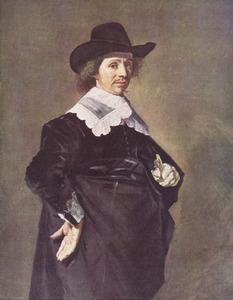 Portret van Paulus Verschueren/Verschuur  (1606-1667)