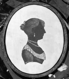 Portret van Johanna Catharina Wigeri (1788-1872), of haar zusters Agatha Wigeri (1783-1862) of   Sytske Wigeri (....-....)