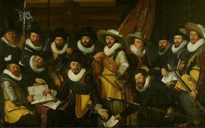 Schutters van de compagnie van kapitein Albert Burgh