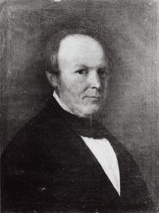 Portret van een persoon genaamd van Bentem