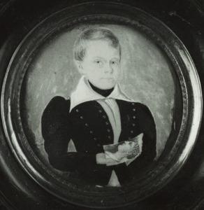 Portret van Willem Lodewijk Carel Adriaan Gey van Pittius (1820-1898)
