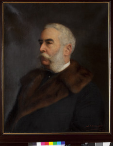 Portret van Adolf Jacob Carel baron van Pallandt (1838-1920)