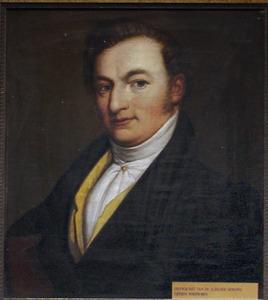 Portret van Gosling Posthumus (1800-1832)