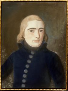 Portret van Bernard Adriaan van der Hoop (1780-1802)