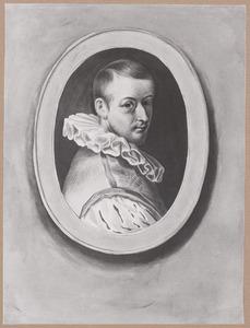 Portret van een man, genaamd Cornelis Cornelisz. van Haarlem (1562-1638)
