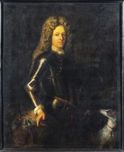 Portret van een man, waarschijnlijk Johan Hieronymus Huyssen (1660-1720)