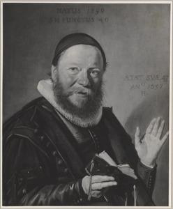 Portret van Caspar Sibelius (1590-1658)