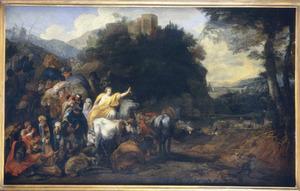 Het Joodse volk verlaat Egypte (Exodus 12:31 - 13:16)