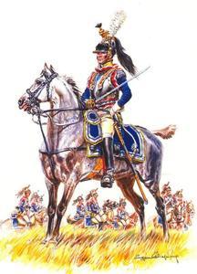 Officier van de Kurassiers (7th regiment)
