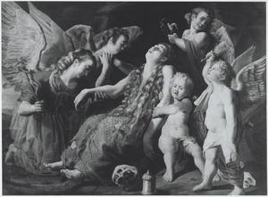 De bewening van de stervende H. Maria Magdalena