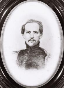 Portret van Gustav Wilhelm Kusky (1812-1858)