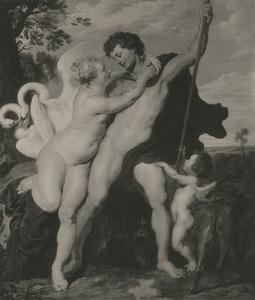 Venus tracht Adonis te weerhouden van de jacht