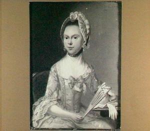 Portret van Pieternella van Well (1738-?)