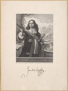 Portret van Johan de Liefde (....-1673)
