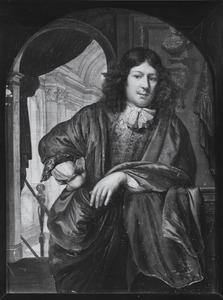 Portret van waarschijnlijk Justus Ghijs (1638-1680)
