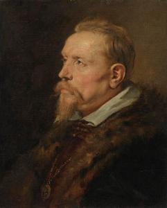 Portret van een man uit de familie Van den Wijngaerd