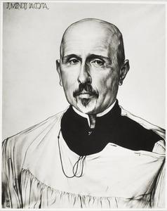 Portret van Joseph Mendes da Costa (1863-1939)