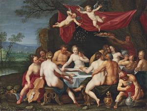 Het huwelijksfeest van Bacchus en Ariadne