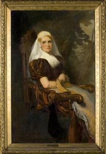 Portret van Gesina van Calcar (1850-1936)