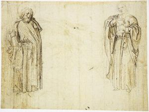 H. Andreas en H. Johannes de Evangelist