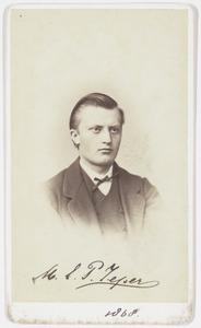 Portret van Meinard Eelco Petrus Zeper (1848-1936)