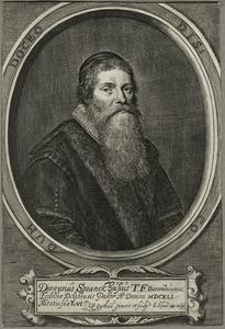 Portret van Dionysus Sprankhuysen (1585-1650)
