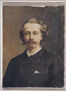 Portret van een man, ten onrechte genaamd Hendrik Dirk Kruseman van Elten (1829-1904)