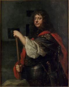 Portret van Lorenz von der Linde (1610-1670)