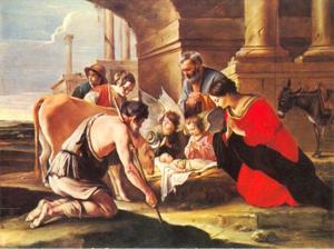 De aanbidding door de herders