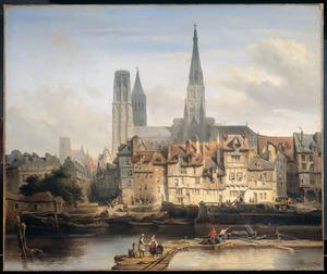 De Parijse kade te Rouen