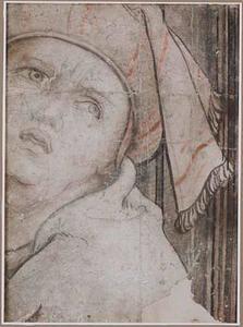 Kop van een man met tulband