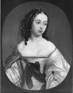 Portret van mogelijk Anna Isabella van Beyeren Schagen (1636-1716)