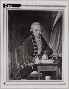 Portret van Herman George Homan (1746-1812)