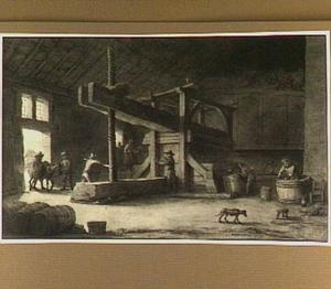 De wijnpers van Monsieur Ditttyl te Nantes