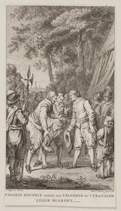 Frederik Hendrik wordt begroet in het Franse leger, mei 1635