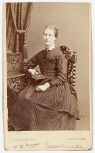Portret van Geertruida van der Pot