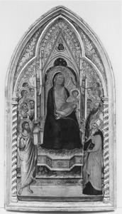Tronende Madonna met heiligen