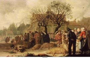 De Varkensmarkt in Den Haag