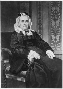Portret van Anna Alida Stoop (1812-1885)