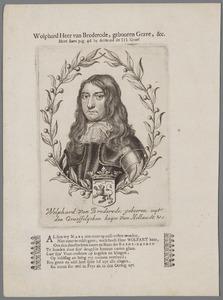 Portret van Wolfert van Brederode (1649-1679)