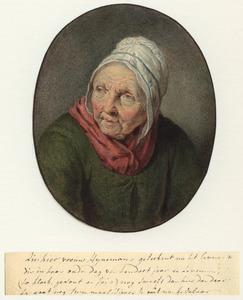 Portret van Lijsje Pieter Ruiter ( -1804)