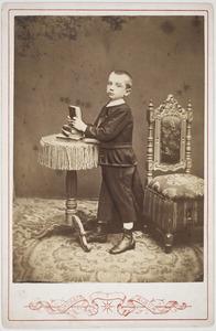 Portret van Anton Arnold Kranenburg (1866- )
