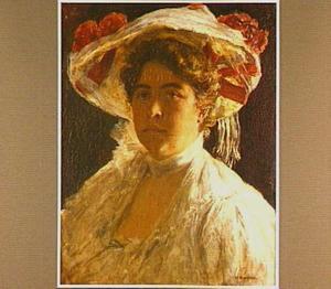 Portret van Anna Singer-Brugh (1878-1962)