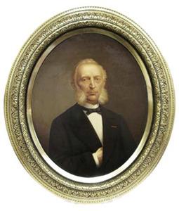 Portret van Adriaan Willem Karel Ariens (1820-1883)