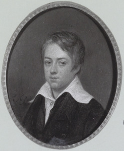 Portret van Johannes Gerardus Julianus Baron van Ittersum (1810-1855)